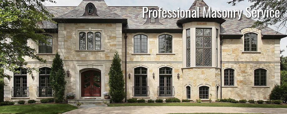 Professional Masonry Service - Contact Forest City Brickwork in London, Ontario